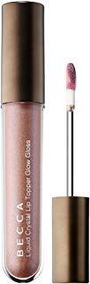 (BECCA Liquid Crystal Glow Gloss: Topaz x Gilt - Golden bronze with a soft emerald shift)