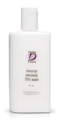 Topix peroxyde de benzoyle 10% Wash 8 oz bouteille