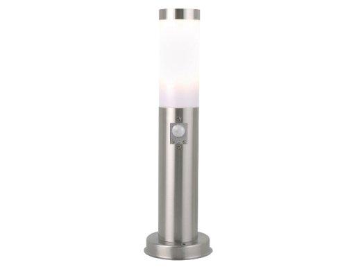 Nordlux Edelstahl Leuchte Stand 45 cm Höhe mit Bewegungsmelder