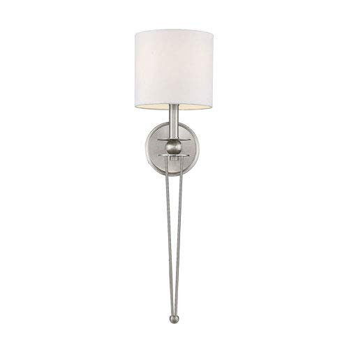 251 First Linden Satin Nickel One-Light Wall - Sconce Light 1 Linden