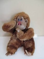Vintage 1980s Russ Berrie Rutherford III Gorilla Monkey Ape Plush