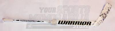 Tuukka Rask Boston Bruins Signed Autographed Game Used Warrior Goalie Stick C