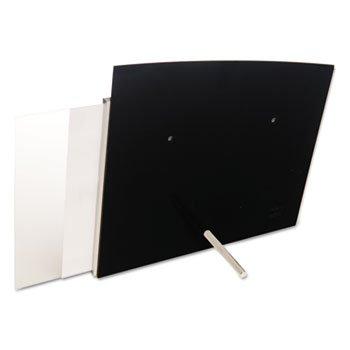 Interior Image Sign Holder, Landscape, 10 3/8 X 7 5/8 Insert, Black/Silver