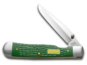 Pocket Bright Green (Trapper Lock Ss John Deere Syn Jiggd Grn)