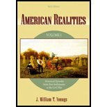 Read Online American Realities - History Episodes, Volume I (6th, 04) by Youngs, J William T [Paperback (2003)] pdf