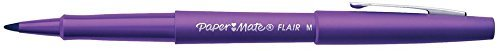 paper-mate-flair-felt-tip-pens-medium-point-purple-12-count