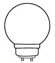 Replacement For 33114G30 14W G30 GLOBE GU24 BASE Light Bulb