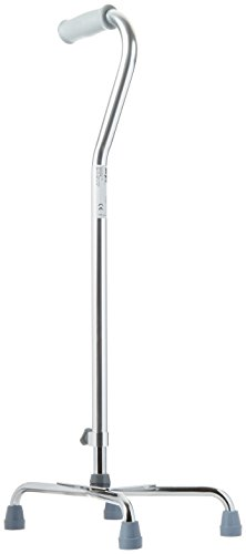 Days Quad Cane with Wide Base, Limited Mobility Aid for E...
