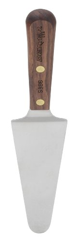 HIC Harold Import Co. 60103 Dexter-Russell 4.5-Inch Stainless Steel and Walnut Pie Server, 4-1/2