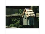 A Bird's Home Heartwood Bluebird Manor House Gray ()