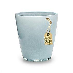 hellblau Blumentopf,Übertopf,Glas
