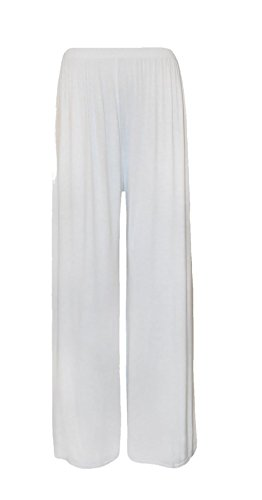 Plus London Fashion Évasé Ltd Uni Crème Palazzo Womens Large Pantalons Pantalon Femmes 26 8 Fever Size Nouveau Jambe SWSRrnp5q