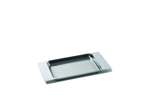 (Alessi FS01 2X3 2 X 3 Programma 8 Tray, Silver)