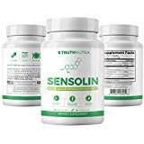 UMZU: Sensolin - All Natural Blood Sugar Lowering Supplement - 30-Day Supply - Blood Sugar Metabolism Support - Can Regulate Blood Glucose - No Artificial Fillers - Non GMO