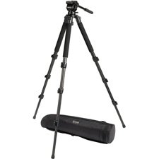 Safari Tripod R1100 Ultra Light HDV Carbon Fiber Tripod System-by-Safari by Safari
