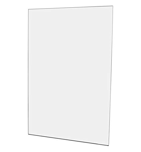Marketing Holders 11W x 17H Sign Holder Wall Mount Pack of 5 Clear Display Sleeve Certificate Handout Flyer Break Rooms Peel and Stick Side Load Document Advertisement Special Vertical Announcement