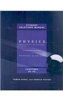 Physics for Scientists and Engineers: A Strategic Approach: Chapters 20-42 Student Solutions Manual