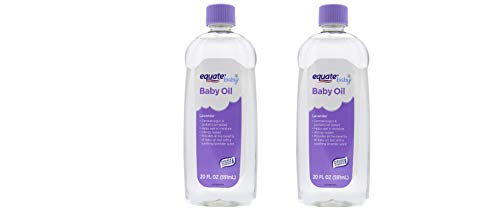 (2 Pack) Baby Oil, Lavender, 20 Fl Oz - Dermatologist And Pediatrician Tested, Helps Seal In Moisture And Prevent dry skin, Allergy tested