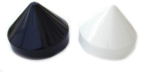 "Marine Dock 8.5/"" Piling Cone Shaped Cap  Boat Pylon Edge Post Head White Cover"
