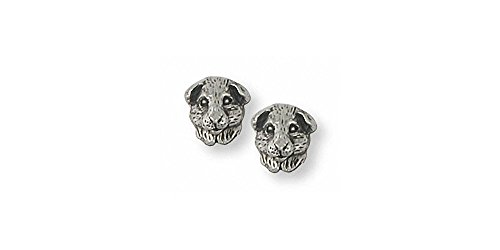 Guinea Pig Jewelry Sterling Silver Guinea Pig Earrings Handmade Piggie Jewelry GP4H-E