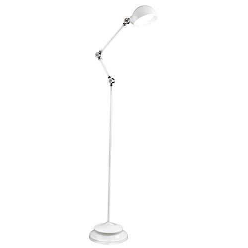(OttLite Revive LED Floor Lamp | Touch-Sensitive Control, 3 Brightness Mode, Adjustable, Reduces Eyestrain | Great for Office, Home, Dorm, Bedroom, College, Living Room)