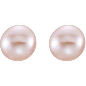 Set-Freshwater Cultured Pearl Stud Earrings