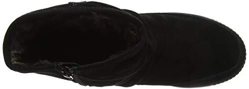 black Le Stivali 001 Exf Pixie Donna Hotter Frange Nero Con w4FxI8q8a