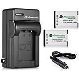 Powerextra , 2 unidades de repuesto de Sony NP-BX1 Li-ion batería de repuesto con cargador para Sony Cyber-shot DSC-HX50V,...