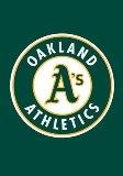 Oakland Athletics Mini Garden Flag