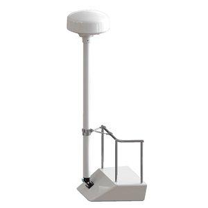 SEAVIEW 8' Radar Mast Pole Kit w/1 Stand-Off Kit