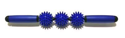 Massage Roller : Spiky Balls Massage Roller Stick, Muscle Trigger Point Therapy, Self Massage Bar, Yoga Massager, 5 Spiky Balls Handheld Massage (Easy Homemade Disney Character Costumes)