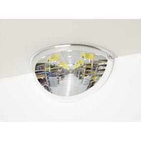 See All 180-Degree Acrylic Half Dome Mirror - Indoor, 36'' Diameter - PV36-180