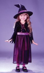 Storybook Witch Velvet Child Costumes - STORYBOOK WITCH VELVET TODDLER