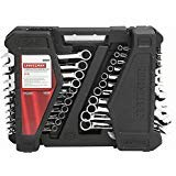 CRAFTSMAN 52 WRENCH SET COMBINATION METRIC AND SAE by Craftsman