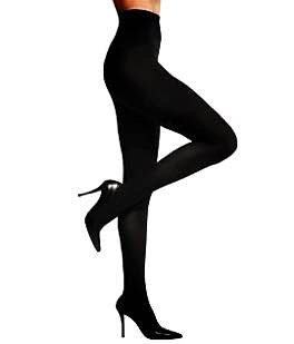 No1 Essential Women Opague Tights Black