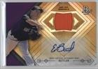Eddie Butler #27/50 (Baseball Card) 2014 Bowman Platinum - Autographed Relics - Gold Refractor #AR-EB