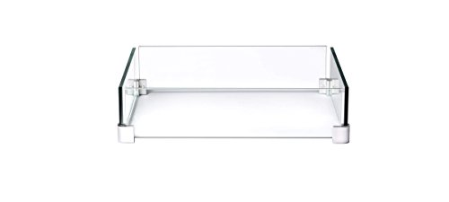 Napoleon Glass Wind Screen for MADR2 Fire Table (GPFSE-WNDSCRN), 23 x 23-Inch Review