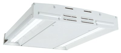 EATON Lighting EHBLD17D40R Compact LED High Bay Ceiling Light Fixture, 19'' x 14-1/2''