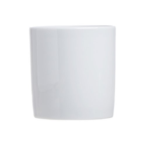 Smart And Cozy 6-Piece Tea/Coffee Mugs (without Handle), White Porcelain, 11.8 Oz, Restaurant&Hotel ()