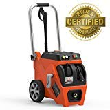 (YARD FORCE 1800 PSI Electric Pressure Washer with Live Hose Reel and Turbo Nozzle)