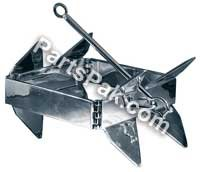 Slide Anchor Box Anchor for Boats, Offshore, Small,Silver primary