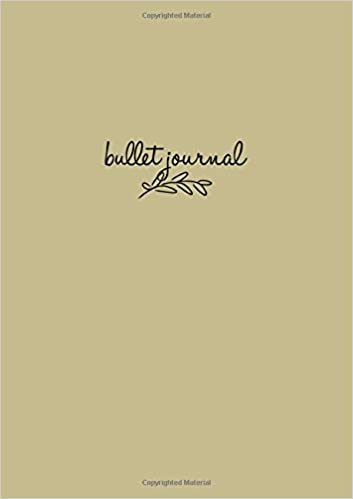Amazon.com: Bullet Journal: Sand Notizbuch A5 Dotted: Bullet ...
