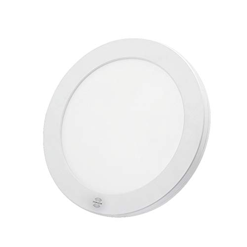 SUNTOWN Motion Sensor LED Ceiling Light 18W 8.8 Inch for Indoor, Stairs, Basements, Hallway