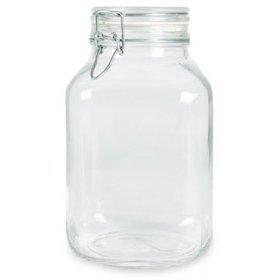 Bormioli Rocco Fido Glass Canning Jar Italian - 5 Liter ()