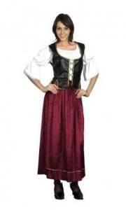 Wench Costumes Uk (Wench Plus Size. (Adult Costumes) - Female - Uk Size 18-22 by Bristol Novelties)