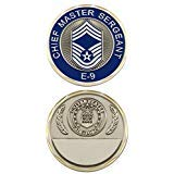 U.S. Air Force Chief Master Sergeant E-9 Challenge Coin Chief Master Of The Air Force