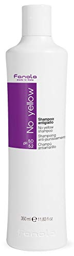 Fanola No Yellow Shampoo, 350 ml (Best Shampoo For Dyed Black Hair)