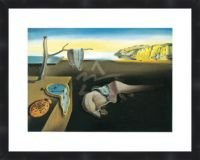 (The Persistence of Memory 1931 by Salvador Dali Framed Poster Print 11X14)