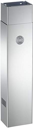 (Bertazzoni 901281 23 to 45 Inch High Adjustable Duct Cover for Bertazzoni Range, Stainless)