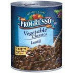 Progresso Vegetable Classics Lentil Soup 19 oz (Pack of 12)
